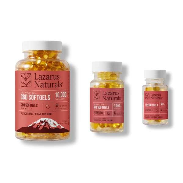cbd capsules softgels gelcaps