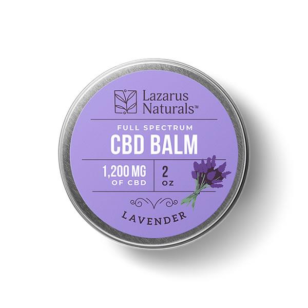 1200mg lavender cbd balm