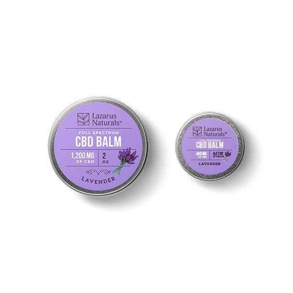 cbd topicals lavender balm