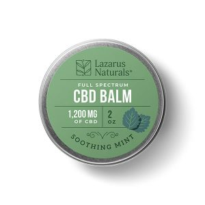 1200mg cbd balm soothing mint