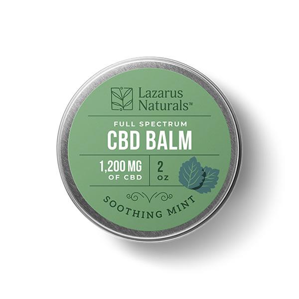 1200mg cbd balm soothing mint