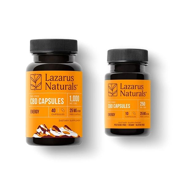 cbd capsules lazarus