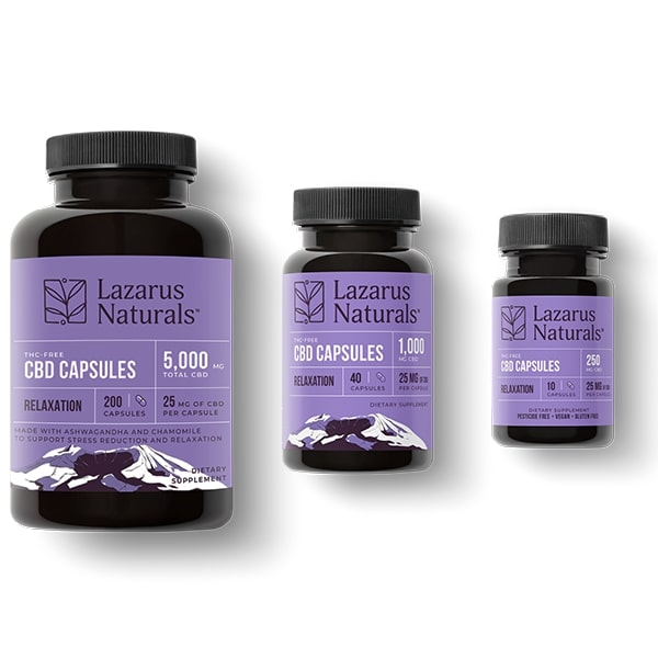 25mg cbd relaxation all sizes