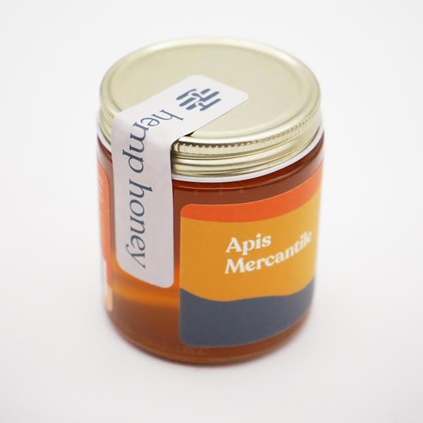 sealed honey jar