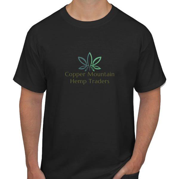 hemp t-shirt black