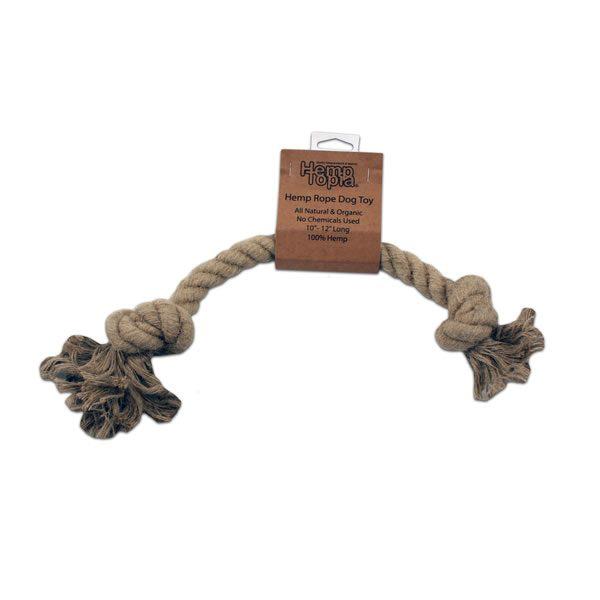 hemp rope dog toy small