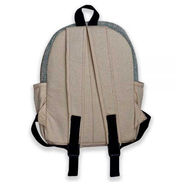 handcrafted hemp backpack