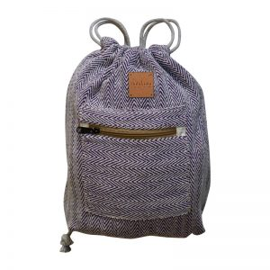 hemp bag blue