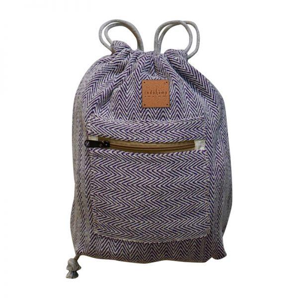 hemp bag blue