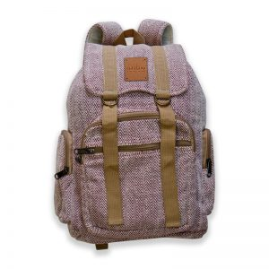 hemp rucksack backpack