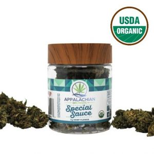 organic special sauce hemp flower