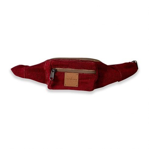 hemp bag crimson