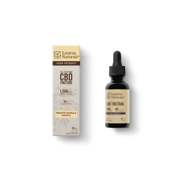 cbd oil french vanilla mocha 1500mg