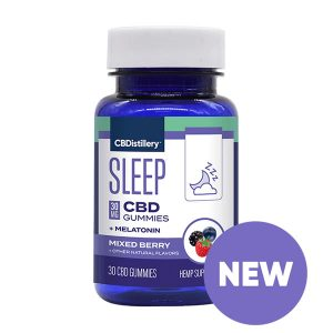 cbd sleep gummies melatonin cbdistillery
