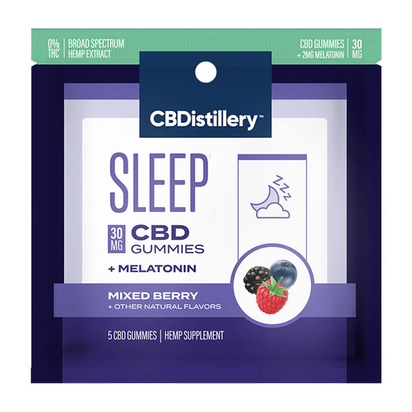 cbd sleep gummies 5 pack