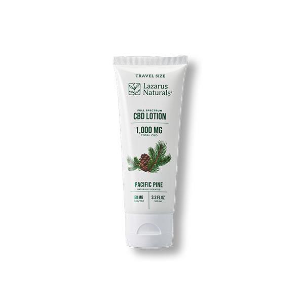 cbd lotion lazarus naturals
