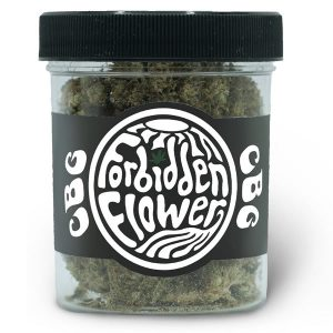cbg hemp flower jar