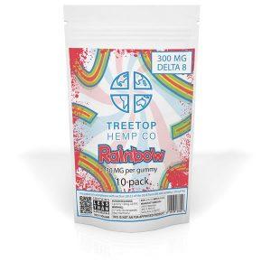 delta 8 thc gummies rainbow 10pk