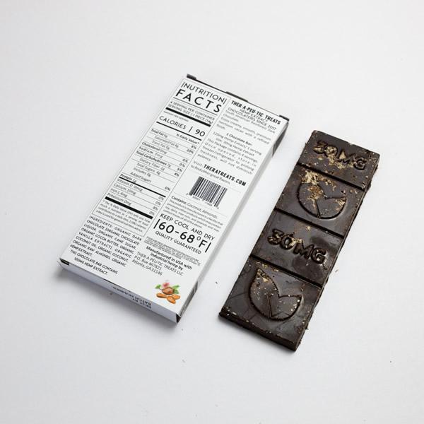 cbd dark chocolate back
