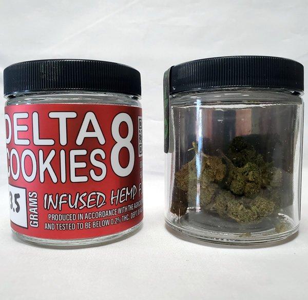 delta 8 thc flower cookies