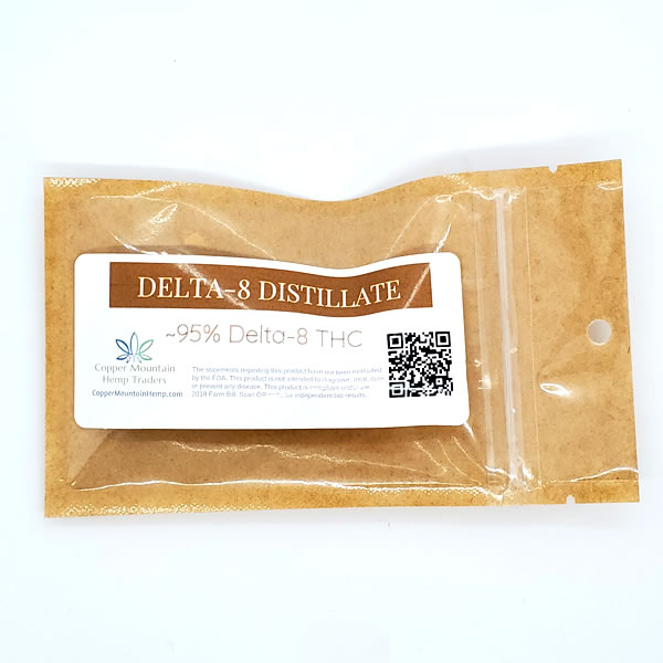 delta 8 thc distillate packaging