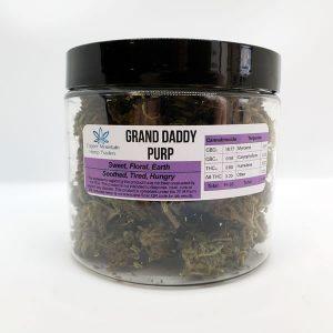 granddaddy purple hemp flower ounce