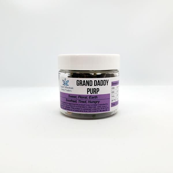 granddaddy purple hemp flower 3.5g