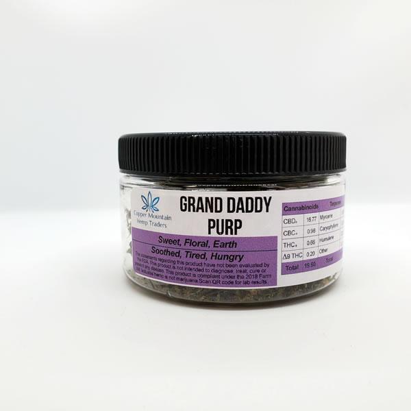 granddaddy purple hemp flower 7g