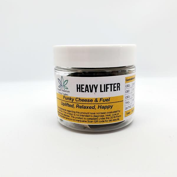 heavy lifter hemp flower 3.5g