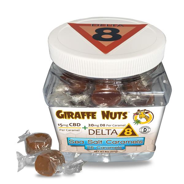 delta 8 thc caramels