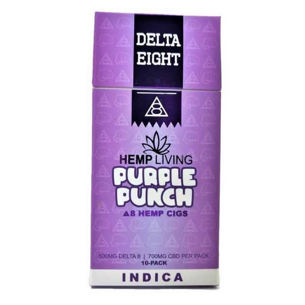 delta 8 thc cigarettes purple punch