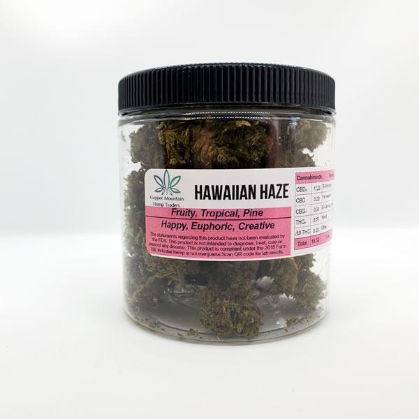 hawaiian haze hemp flower 14g