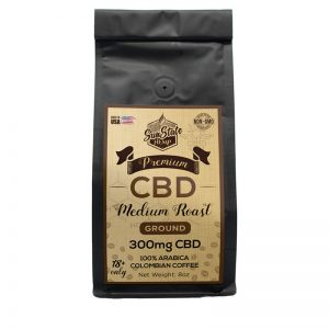 cbd coffee 300mg front