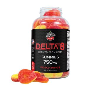 delta 8 peach gummies