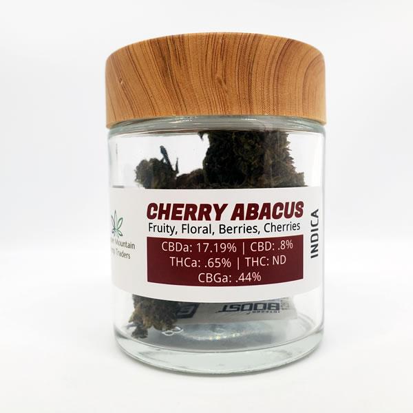 cherry abacus cbd hemp flower 7 grams