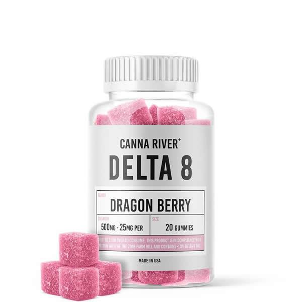delta 8 gummies 25mg dragon berry