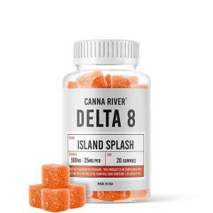 delta 8 gummies 25mg island splash