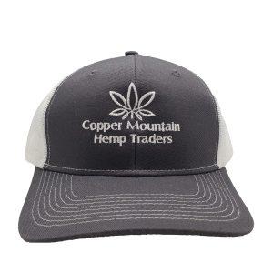 copper mountain branded trucker hat