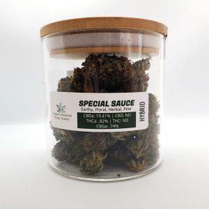 special sauce hemp flower 28 grams