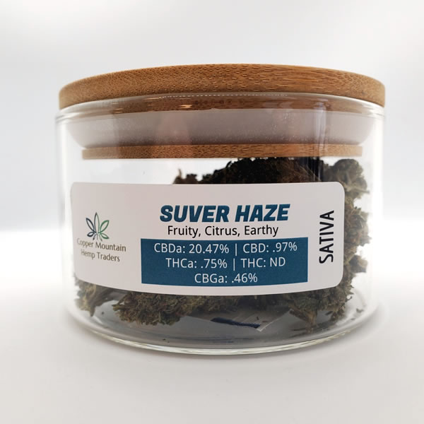 suver haze hemp flower 14 grams