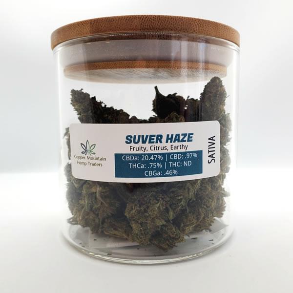 suver haze hemp flower 28 grams
