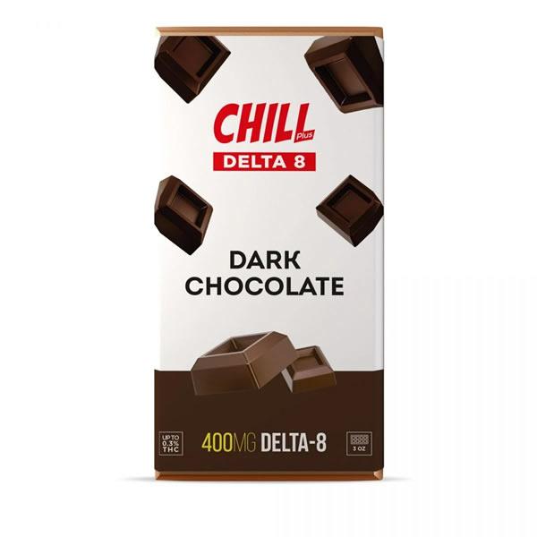 delta 8 dark chocolate bar chill