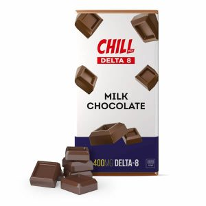 delta 8 milk chocolate bar chill